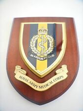 RAMC Royal Army Medical Corps Wall Plaque UK Hand Made for MOD