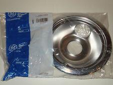 """New GE WB31T10010 6"""" Chrome burner bowl"""