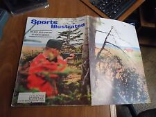 Sports Illustrated 1963 Best Deer Hunting In North America Cover/ Stan Musial