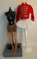 """Vintage 1960s Barbie Doll Clothes """"DRUM MAJORETTE #0875"""" -443"""