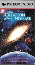 PBS Home Video The Creation of the Universe USED VHS B3239