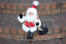 Santa Figure Drolleries by Deborah Henderson Patriotic American Flag Demdaco