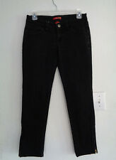 TWENTYONE BLACK Low-Rise STRETCH Size 3 XS SKINNY Jeans Ankle Zippers 30 X 25.5