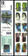 """CANADA 1412b (BK145a) - Heritage Rivers """"Complete Booklet"""" (pa59362)"""
