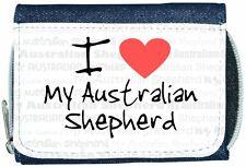 I love coeur mon portefeuille denim bergers australiens