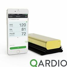 Qardio Arm Wireless Modern Blood Pressure Monitor for iPhone iOS & Android, Gold