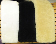 "Just Merino Sheepskin Standard English Girth Cover Tube Style 32"" Choice Color"