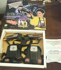 Vintage Laser Command Electronic Tag Game Team Set 1997 Tested w/ box & manual