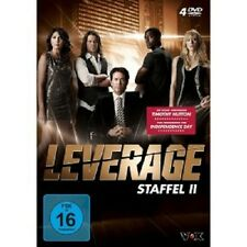 LEVERAGE - STAFFEL 2 (TIMOTHY HUTTON/GINA BELLMAN/CHRISTIAN KANE) 4 DVD NEU