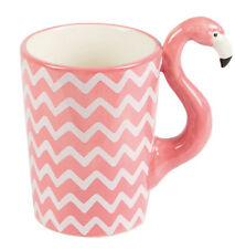 FLAMINGO Ziggy Tropical KAFFEE Becher Retro Tasse / MUG Rockabilly