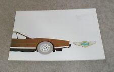 Aston Martin Lagonda Car Brochure Circa 1979