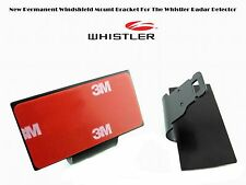 NEW WHISTLER Radar Detectors Permanent Windshield Mount For The Recent Model !.