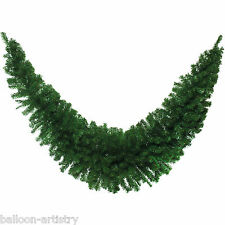 1.8m Deluxe Christmas Party Natural Green Pine Tinsel Swag Garland Decoration