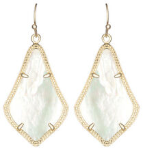 Kendra Scott Alex Earrings in Creamy Pearl & Gold