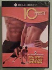 tony horton 10 minute trainer  TOTAL BODY 2 / CORE CARDIO / UPPER BODY  DVD  NEW