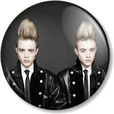"JEDWARD 1"" 25mm Pin Button Badge Singers Cheesy Pop Stars X Factor Twins Irish"
