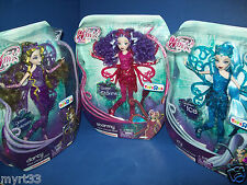 Winx Club 3 Doll Lot TRIX COLLECTION ICY ~ STORMY ~ DARCY  TRU Exclusive HTF new