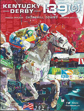 Kentucky Derby Official Program 139 with Result Ticket May, 2013
