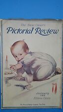 Vintage Pictorial Review Magazine JANUARY 1912*ROSE O'NEIL*
