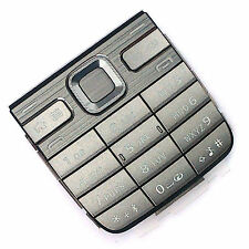 100% Genuine Nokia E52 keypad silver grey keyboard numeric buttons keys metallic