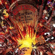 GEHENNAH - TOO LOUD TO LIVE,TOO DRUNK TO DIE 2 CD NEU