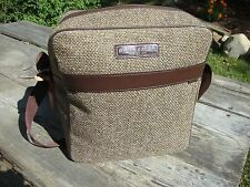 PIERRE CARDIN TWEED SHOULDER TRAVEL BAG
