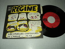 "REGINE 45 TOURS 7"" FRANCE PAPA (WOLINSKI)"