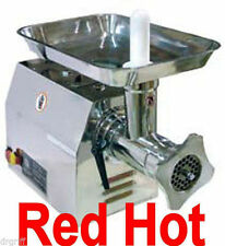 New Fma Omcan Commercial  #12 Stainless Steel Meat Grinder 1 Hp BSM12  23580