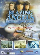 "Blazing Angels Squadrons Of WWII ""Coming March"" 2006 Magazine Advert #4694"