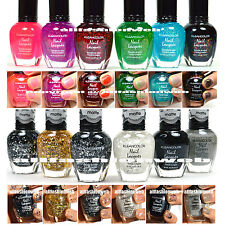 12 KLEANCOLOR CHUNKY HOLO + MATTE GLITTER COLLETION NAIL POLISH LACQUER KNP6+14