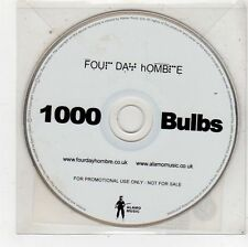 (FU610) Four Day Hombre, 1000 Bulbs - 2005 DJ CD