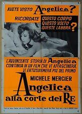 MANIFESTO, ANGELICA ALLA CORTE DEL RE Merveilleuse Angélique MERCIER AFFICHE