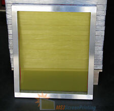"6 Pack - 20""x24"" - 196 Yellow Mesh - Aluminum Silk Screen Printing Screens Frame"