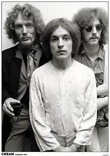 Cream POSTER Londra 1967-Eric Clapton Ginger Baker Jack Bruce