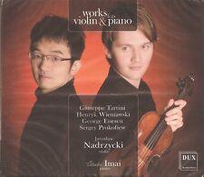 Works for Violin & Piano / Jaroslaw Nadrzycki • Tadashi Imai