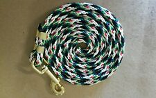 Nylon Poly Miniature Horse or Pony Lead Rope USA Made- multi