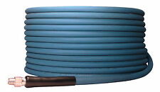 """100' ft 3/8"""" Blue Non-Marking 4000psi Pressure Washer Hose 100 - FREE SHIPPING"""