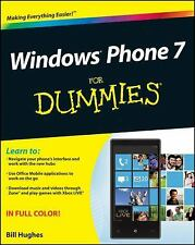 Windows Phone 7 for Dummies by Bill Hughes  Apps, Games 2010 (Paperback)