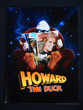 HOWARD THE DUCK 1986 * LEA THOMPSON * PROMOTIONAL BOOKLET * 30TH ANNIVERSARY!!!!