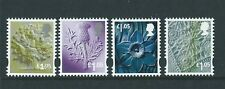 GREAT BRITAIN 2016 TARRIFF CHANGE NEW REGIONALS SET OF 4  UNMOUNTED MINT, MNH,