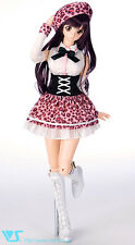 Volks Doll Party 28 Dollfie Dream Pinky School Beret Set DDS DD L Bust DDdy