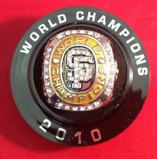 San Francisco Giants Fresno Grizzlies 2010 World Series Champions Replica Ring