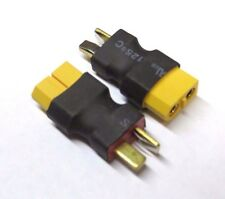 2 PCs Female XT60 To Male T-Plug Deans Connector Adapter No wire