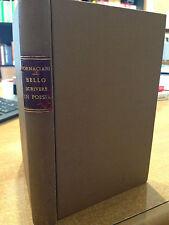 1860 FORNACIARI - ESEMPI DI BELLO SCRIVERE IN POESIA - EDITORE RONDINELLA NAPOLI