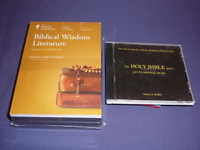 Teaching Co Great Courses CDs           BIBLICAL WISDOM LITERATURE   new + BONUS