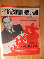 Big Brass Band from Brazil (sheet music)