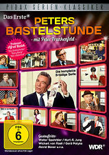Peters Bastelstunde - DVD Peter Frankenfeld  3-teilige Serie Pidax Neu Ovp