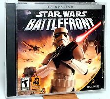 Star Wars Battlefront - WINDOWS PC Game New SEALED