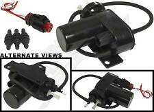 APDTY 12V Electric Vacuum Pump & Wiring Harness Pigtail -HVAC Cruise Control 4WD