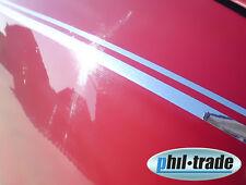 Doble-manicure pin-Stripe decoración rayas coche 10m x 10mm cromo